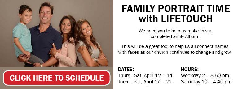 Family Portrait Time