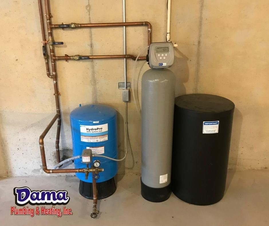 Water Softeners from Dama Plumbing and Heating