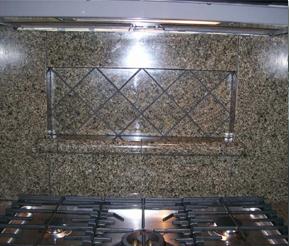 Custom Backsplash tile installaion