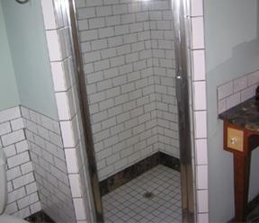 Installing Shower Tiles